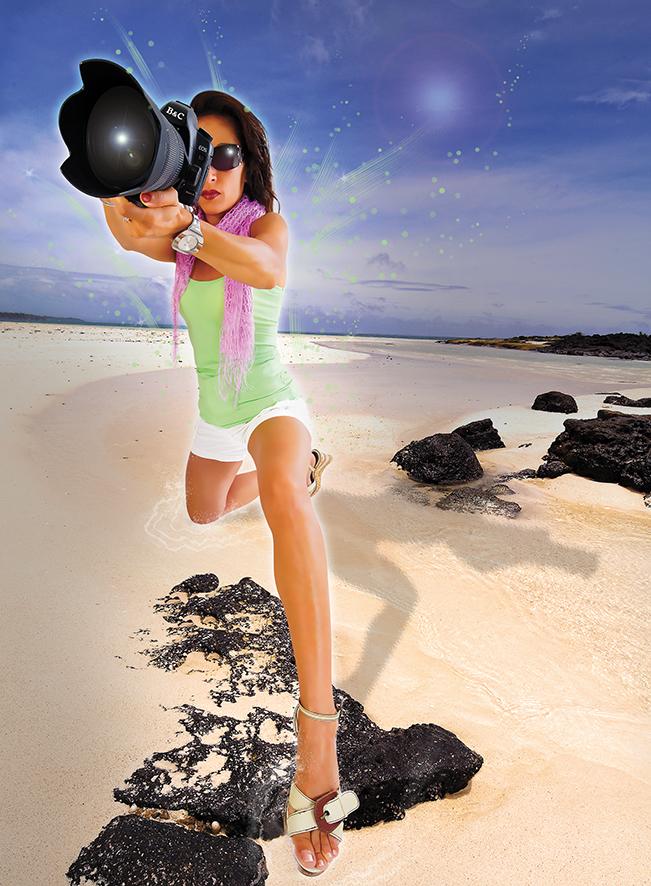 Photo femme illustration