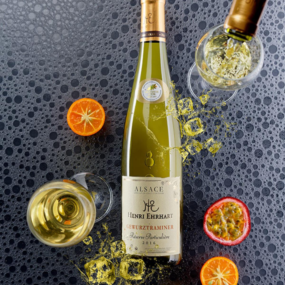 Vins blanc d'Alsace