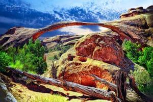 Arche National Park, dans l'ouest des États-Unis,