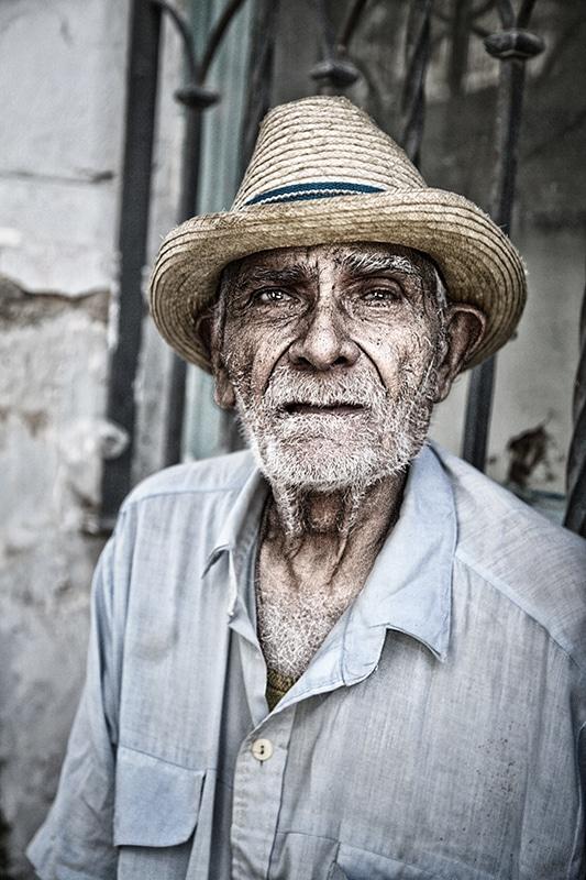 portrait vielle homme